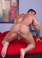 Zeb Atlas Returns and got his cock serviced