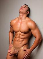 Twenty-one year old bodybuilder Martin Santos
