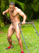 Miguel - Black Puerto Rican Muscle God Cums Twice!