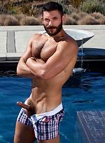 Bob Hager naked outdoors