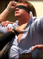 Trent Diesel Bound and Suspended. Christian Wilde, Nick Moretti, Trent Diesel, Van Darkholme.