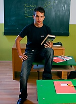 Photo session Brand Shay in a classroom