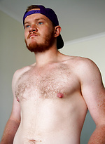 Aussie rugby player Beau Jackson in his first shoot