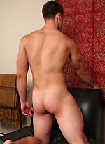 Brian, hot hairy hunk jacking off