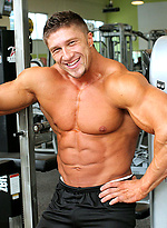 Cute bodybuilder Nick Zak