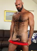 Muscled bear Marco Rios
