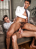 Devin Franco And Lee Santino Flip-fuck In Suits